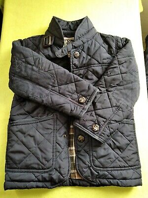 Boys Next Quilted Coat/Jacket Dark Blue - Size 5 Years