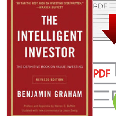 The Intelligent Investor: The Definitive Book on Value Investing ( how to get $)