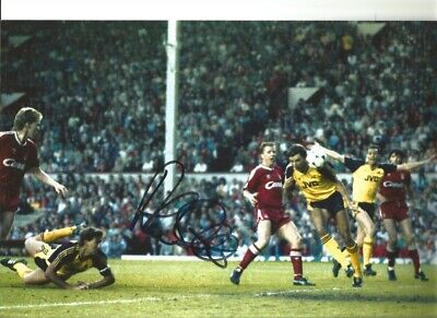 Alan Smith Arsenal Signed 12x8 inch hand signed authentic football photo S005c