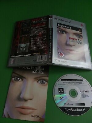 Resident Evil Code Veronica X PS2 Playstation 2