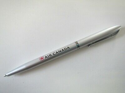 Air Canada Airlines Promo Aviation Advertising Maple Leaf Logo Official Pen