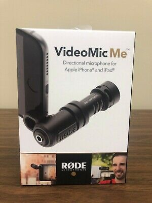 NEW IN BOX! Rode VideoMic Me Directional Microphone for Smartphone