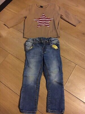 Baby Gap And Zara Toddler Boy Jeans And Jumper Age 18-24 Months