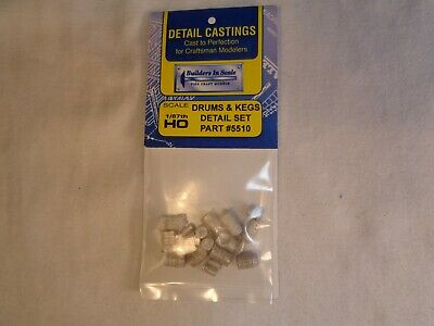 Builders In Scale Ho-Scale #5502 Warehouse Detail Set