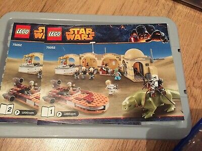 Lego Star Wars: Mos Eisley Cantina Instruction Manuals Only 75052