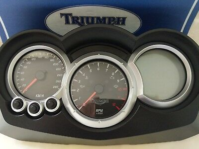 triumph sprint 1050 st speedo clocks instruments tacho KM/H non ABS