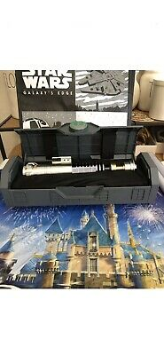 Star Wars Disney Galaxy's Edge Luke Skywalker Legacy Lightsaber Hilt + Bonus.