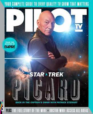 Pilot TV Magazine March 2020: PICARD Patrick Stewart ROBERT CARLYLE Doctor Who