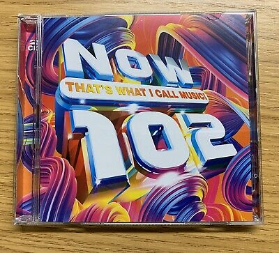 Now Thats What I Call Music 102 (various Artists) 2 CD Set (12th April 2019)