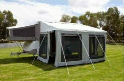 12' ft Jayco Bag Awning Annexe Walls Only for Swan & Flamingo Camper Trailer