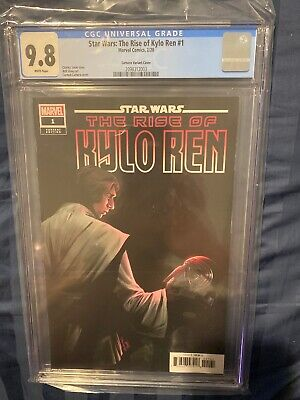 Star Wars the Rise of Kylo Ren #1 1:25 Carmen Nunez Carnero Variant CGC 9.8 HTF