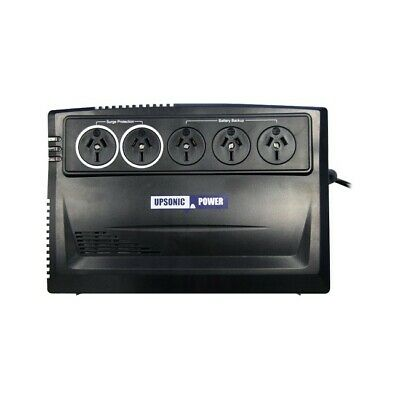 ORION750 UPSONIC 750Va UPS With 3Pin Plug Input Line Interactive Orion System
