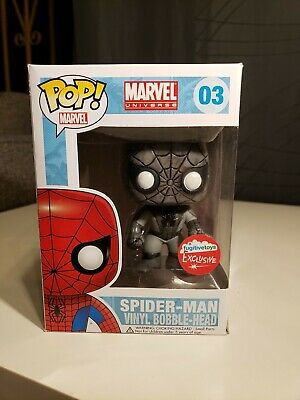 Funko Pop Marvel Spider-Man # 03 Fugitive Toys Exclusive