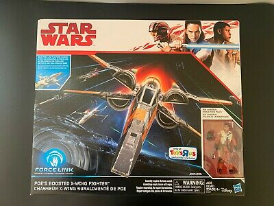 Star Wars Poe Dameron Boosted X-wing Toys R Us Exclusive The Last Jedi Brand New