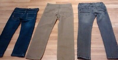 Marks and Spencer/Tesco 3 Pairs of Boys Jeans Size 5-6, 7-8 and 8-9 Bundle/Lot