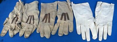 Three Pairs of Vintage Ladies Soft Leather Gloves