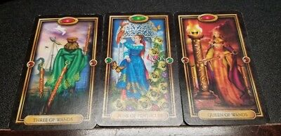 SAME DAY Psychic Intuitive 3 card Tarot or Oracle card reading