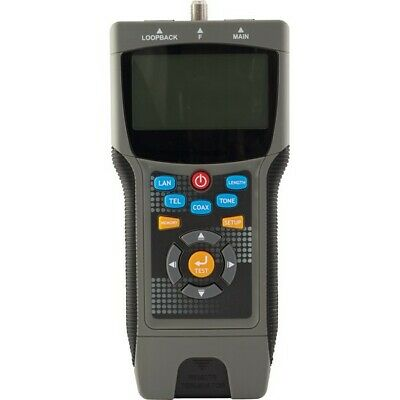 LCT8 DOSS Pro Coax & LAN Cable Tester Locates Distance To the Fault Identifies