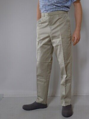 Vintage retro true 1960s L unused mens pants Dencraft Australia narrow leg