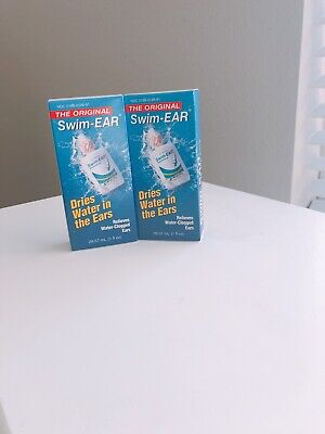 2 THE ORIGINAL SWIM-EAR RELIEVES/DRIES WATER IN THE EARS 1oz EA EX.4/20+ SH 1100