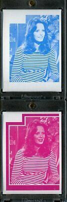 1977 Topps Charlies Angels Color Separation Proof Cards. #233