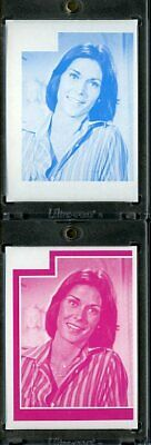 1977 Topps Charlies Angels Color Separation Proof Cards. #199