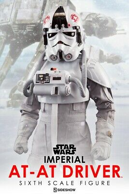 Imperial At-At Driver Sixth Scale Figure EXCLUSIVE Sideshow 1001241 FACTORY MINT