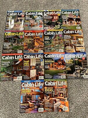Cabin Life Living Magazine Back Issues 14 Uncirculated Newsstand 2012 2013 Ideas