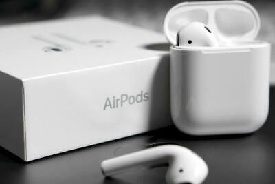 Apple AirPods: | 2nd Generation MV7N2AM/A | Valid Apple Warranty| Wired charge |