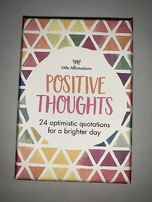 Affirmation Gifts Card Little Affirmations- Positive Thoughts