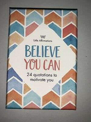 Affirmation Gifts Card Little Affirmations- Believe You Can
