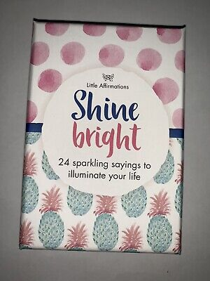 Affirmation Gifts Card Little Affirmations- Shine Bright