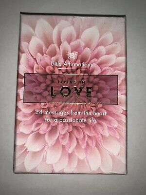 Affirmation Gifts Card Little Affirmations- Living In Love