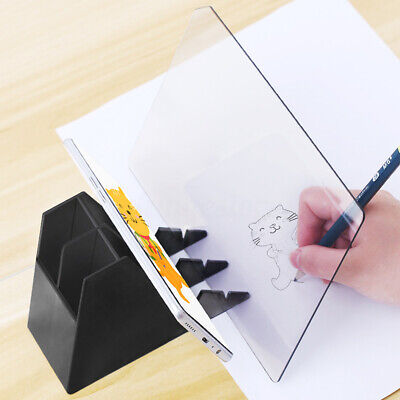 Portable Optical Image Drawing Projectors Board Tracing Copy Pad Panel Painting