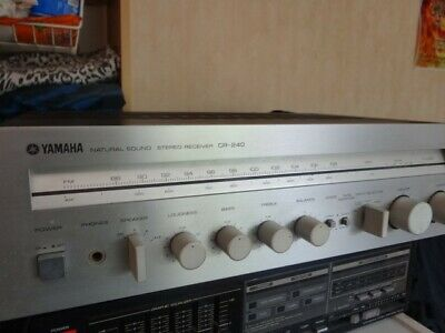 For Sale Vintage Yamaha Receiever CR-240 1980