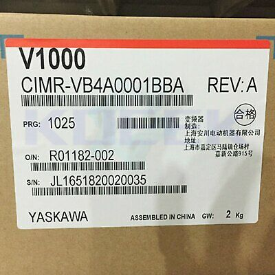 Yaskawa inverter 1pc new CIMR-VB4A0001BBA fast delivery