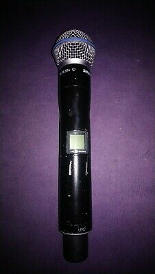 Shure UR2 Beta 58 B58 Wireless Microphone Handheld Transmitter K4E 606-666MHz