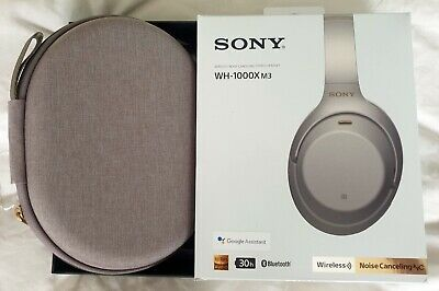 Sony WH-1000XM3 Noise-Cancelling Bluetooth Headphones - Silver