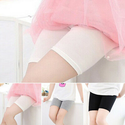 Toddler Kids Baby Girls High Waist Tights Short Pants Stretchy Elastic Safety