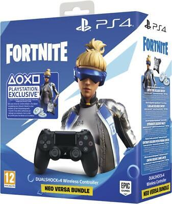 Sony DualShock 4 Controller Fortnite Neo Versa Bundle (PS4)