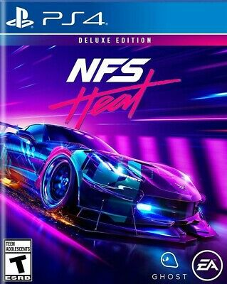 Need for Speed Heat Deluxe Edition [PS4] [Read Description] [Multilanguage]