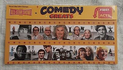 GB Stamps 2015 Comedy Greats Presentation Pack 509