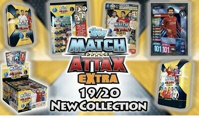 Match Attax Extra 19/20 Defensive Rock Cards 2019/20 UEFA Champions League UCL