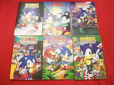 Sonic Hedgehog Archives Vol.1-14 Archie Video Game Tpb Comic Lot 2009-2010 Nm