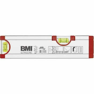 Bmi Aluminum Water Level Ultrasonic with Magnet 200mm