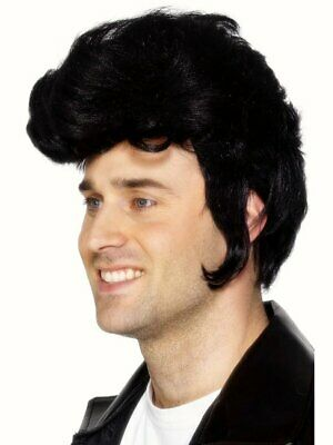 Grease Movie Character Wigs Adults Fancy Dress 50s Fifties Ladies Mens Costume