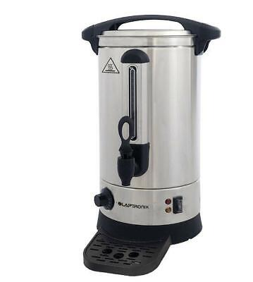 Laptronix 10 Litre Electric Catering Hot Water Boiler Tea Urn Stainless Steel