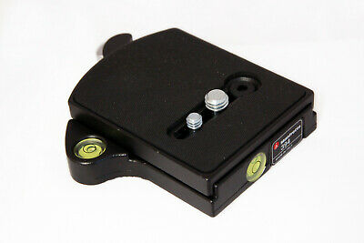 Manfrotto 394 RC4 Low Profile Rapid Connect Adapter with Quick Release Plate