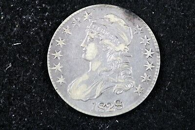 ESTATE FIND 1828 - Capped Bust Half Dollar!! #H14823