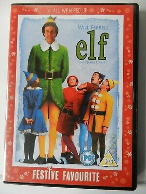 Elf [DVD]  2 discs starring Will Ferrell